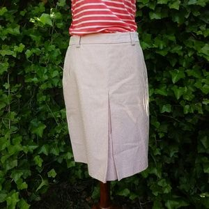 Brooks brothers made in Italy 100% cotton skirt